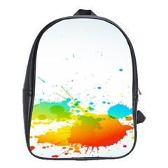 Colorful Abstract School Bags(Large)