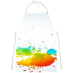 Colorful Abstract Full Print Aprons