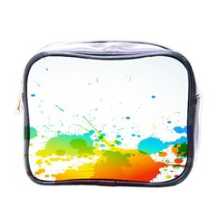 Colorful Abstract Mini Toiletries Bags