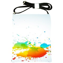 Colorful Abstract Shoulder Sling Bags