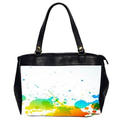 Colorful Abstract Office Handbags (2 Sides)