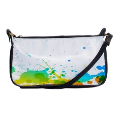 Colorful Abstract Shoulder Clutch Bags