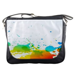 Colorful Abstract Messenger Bags