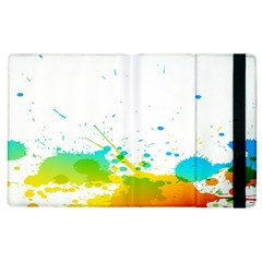 Colorful Abstract Apple Ipad 3/4 Flip Case
