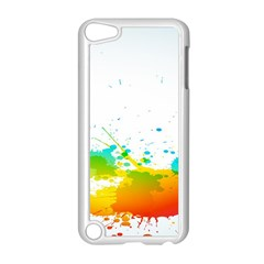 Colorful Abstract Apple iPod Touch 5 Case (White)