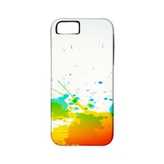 Colorful Abstract Apple iPhone 5 Classic Hardshell Case (PC+Silicone)