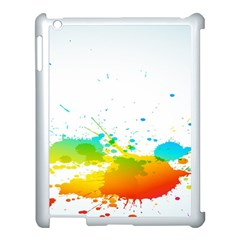Colorful Abstract Apple Ipad 3/4 Case (white)