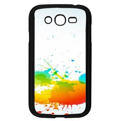 Colorful Abstract Samsung Galaxy Grand Duos I9082 Case (black)