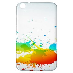 Colorful Abstract Samsung Galaxy Tab 3 (8 ) T3100 Hardshell Case