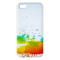 Colorful Abstract Iphone 5s/ Se Premium Hardshell Case