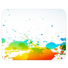 Colorful Abstract Double Sided Flano Blanket (medium)