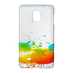 Colorful Abstract Galaxy Note Edge