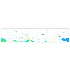 Colorful Abstract Flano Scarf (Small)
