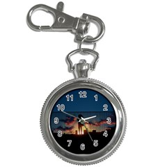 Art Sunset Anime Afternoon Key Chain Watches