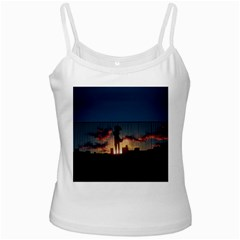 Art Sunset Anime Afternoon Ladies Camisoles