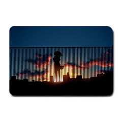 Art Sunset Anime Afternoon Small Doormat