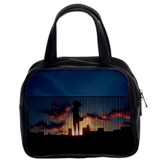 Art Sunset Anime Afternoon Classic Handbags (2 Sides)