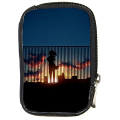 Art Sunset Anime Afternoon Compact Camera Cases