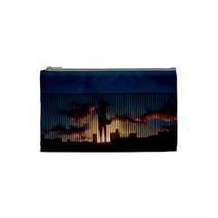 Art Sunset Anime Afternoon Cosmetic Bag (Small)