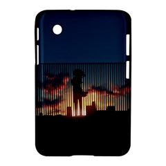 Art Sunset Anime Afternoon Samsung Galaxy Tab 2 (7 ) P3100 Hardshell Case