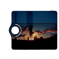 Art Sunset Anime Afternoon Kindle Fire Hdx 8 9  Flip 360 Case