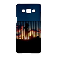 Art Sunset Anime Afternoon Samsung Galaxy A5 Hardshell Case