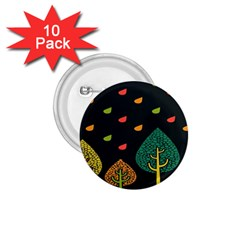 Vector Color Tree 1 75  Buttons (10 Pack)