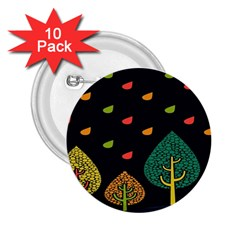 Vector Color Tree 2 25  Buttons (10 Pack)