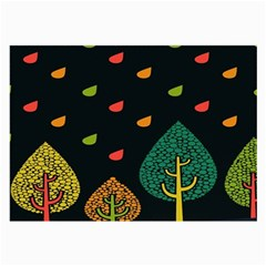 Vector Color Tree Large Glasses Cloth (2-Side)