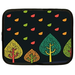 Vector Color Tree Netbook Case (large)