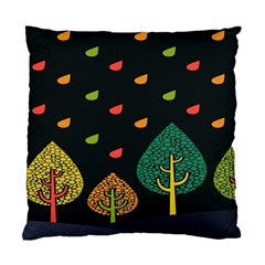 Vector Color Tree Standard Cushion Case (two Sides)