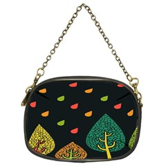 Vector Color Tree Chain Purses (Two Sides)