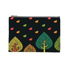 Vector Color Tree Cosmetic Bag (Large)