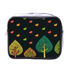 Vector Color Tree Mini Toiletries Bags