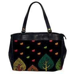 Vector Color Tree Office Handbags