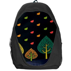 Vector Color Tree Backpack Bag