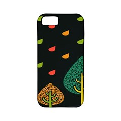 Vector Color Tree Apple iPhone 5 Classic Hardshell Case (PC+Silicone)