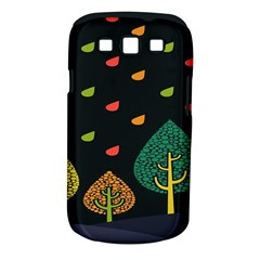 Vector Color Tree Samsung Galaxy S III Classic Hardshell Case (PC+Silicone)