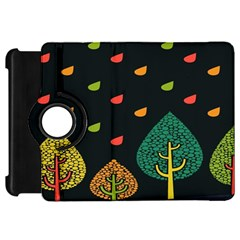 Vector Color Tree Kindle Fire HD 7