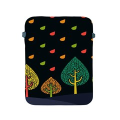 Vector Color Tree Apple iPad 2/3/4 Protective Soft Cases