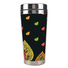 Vector Color Tree Stainless Steel Travel Tumblers
