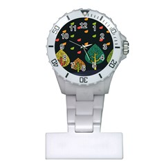 Vector Color Tree Plastic Nurses Watch