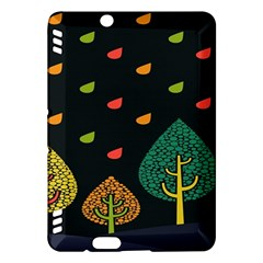 Vector Color Tree Kindle Fire Hdx Hardshell Case