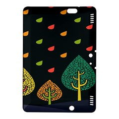 Vector Color Tree Kindle Fire HDX 8.9  Hardshell Case