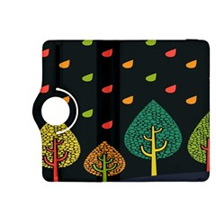 Vector Color Tree Kindle Fire HDX 8.9  Flip 360 Case