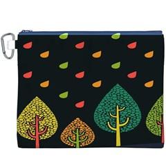 Vector Color Tree Canvas Cosmetic Bag (XXXL)