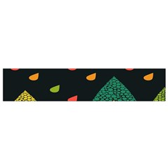 Vector Color Tree Flano Scarf (Small)