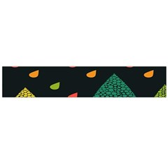 Vector Color Tree Flano Scarf (large)