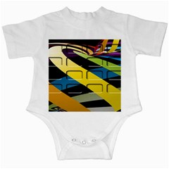 Colorful Docking Frame Infant Creepers