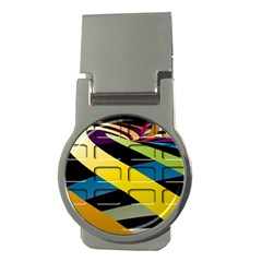 Colorful Docking Frame Money Clips (Round)